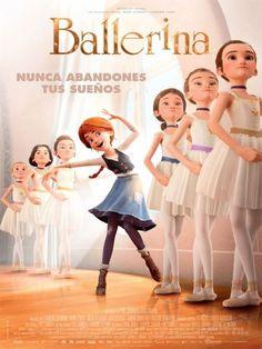 Ballerina poster, t-shirt, mouse pad Dance Movies, Kid Movies, Family Movies, Cartoon Movies, Series Movies, Disney Movies, Comedy Movies, Night Film, Ballerina Dessin Animé