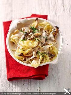 Kräuterseitlinge mit Pasta, ein sehr schönes Rezept aus der Kategorie Gemüse. Bewertungen: 61. Durchschnitt: Ø 4,3.