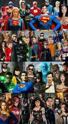 Generations of DC heroes via the big screen