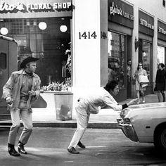 Dustin Hoffman and Jon Voight | I'm walkin' here!!!! - Midnight Cowboy