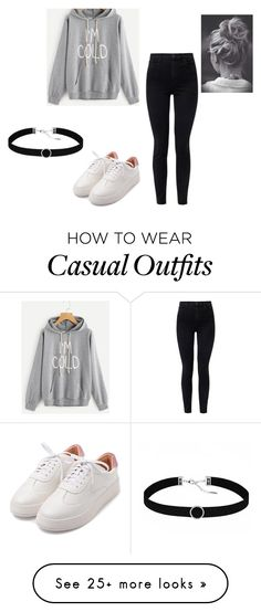 """When I Go Places"" by keefesencen on Polyvore featuring J Brand and Astrid & Miyu"