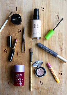 Beauty essentials to keep in your makeup bag.