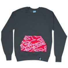 Design your own Jumper Low Pocket by Hantu with #emblzn - #sweatshirt