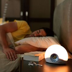Ease your body into an early get up with this Lumie Bodyclock Starter 30 Wake-up Light #JLLiveBetter