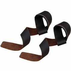 Leather Padded Weight Lifting Gym Straps