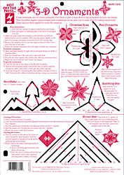 3-D Christmas Ornaments Template