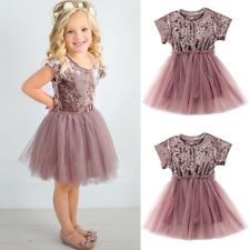 Dresses Able Kids Girls Strappy Dress Embroidery Flower Sleeveless Princess Dress For Summer @zjf