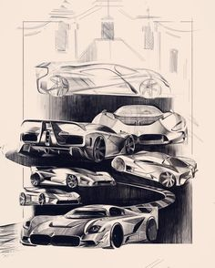Sketches by Miroslav Dimitrov @miroslavdimitrovdesign A project of sport car based on Ultima GTR #cardesign #car #design #carsketch #sketch #sportcar #ultimagtr #trackday #trackcar