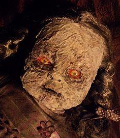 OOAK Zombie Walker Schoolgirl Horror Halloween Prop Doll in Dolls & Bears…