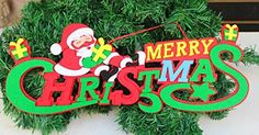 Mikey Store Christmas Santa Claus Merry Christmas Hanging Pendant Decoration A * This is an Amazon Affiliate link. You can find out more details at the link of the image.