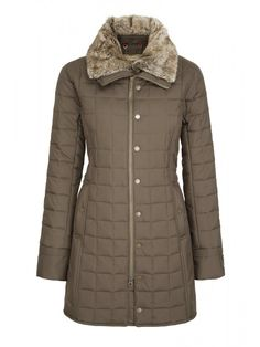 Erin | thigh-length Quilted Coat for Women, Warm Winter Coat | Long Winter Coat