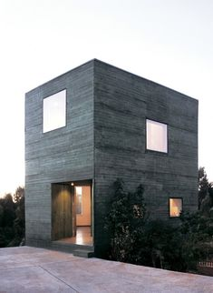 Fosc House, San Pedro, Chile by Pezo von Ellrichshausen Architects.