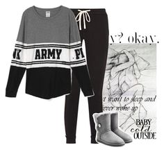 """""""Everything Is Gray..."""" by nicole-wu03 ❤ liked on Polyvore featuring James Perse and UGG Australia"""
