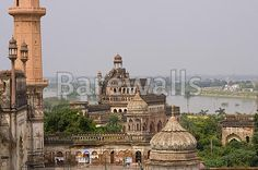 """""""Mosque at the 18th Century Bara Imambara complex in Lucknow, Uttar Pradesh, India"""" - India posters and prints available at Barewalls.com"""