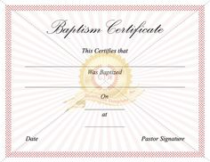 baptism certificate templates see more download free or premium version no registrations instant download premium version has no