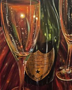 30x40 acrylic on canvas #champagne