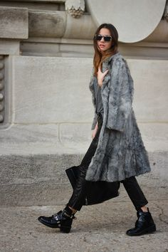 Inspired by street style…..….Blaze & Lawrence Luxury Furs https://www.etsy.com/shop/AutumnandYosVintage?ref=hdr_shop_menu #streetstyle #fashion #love #classic #lifeistooshort #havefun #glam #gorgeous#walkitout #fierce #trendsetteralert #fur……….STREET STYLE / LOVE