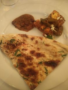 Naan, paneer and dal makhani, Shiva's Indian restaurant, Mountain View