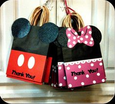 Mickey Mouse Goodie Bags by lavishdesigner on Etsy, $2.75