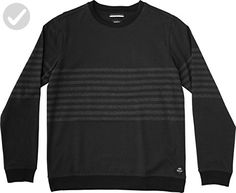 RVCA Men's New Sins Crew Sweatshirt, Black, Small - Mens world (*Amazon Partner-Link)