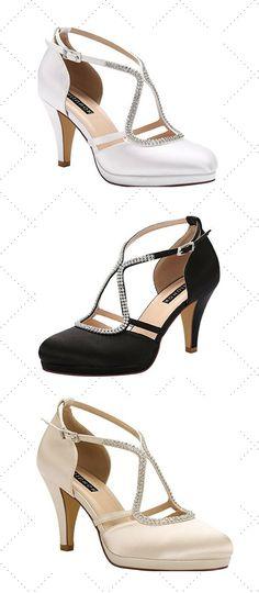 6289ba80d2ba 30 Best Prom Shoes Low Heeled images