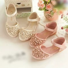 Cute Ivory Pink Flower Kids Shoes For Wedding Formal Event Party Flower Girl's Shoes In Stock High Quality Hook Loop Leather Bany Shoes Kids Shoes Flower Girls Shoes Party Shoes for Kids Online with $29.72/Piece on Yf_one's Store | DHgate.com