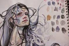 Image result for a level art sketchbook