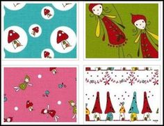 Woodlands by Natalie Lymer. Australian fabric! Very cute, bright colours.