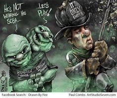 ...think no wearing your SCBA for the little things does not matter....think again...