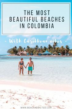 Discover 12 best beaches in Colombia with caribbean vibe which will make you want to visit right now, with extra tips how to reach them and things to do. Columbia South America, South America Travel, Ecuador, South America Destinations, Colombia Travel, Visit Colombia, Beach Trip, Beach Vacations, Vacation Destinations