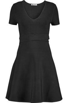 Shop on-sale T by Alexander Wang Ribbed-knit mini dress. Browse other discount designer Dresses & more on The Most Fashionable Fashion Outlet, THE OUTNET.COM