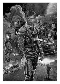 Mad Max Movie Poster, available at 45x32cm.This poster is printed on matt coated 350 gram paper.