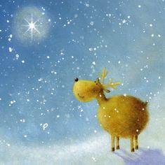 Abbi Brown (all) « Jan Pashley – Illustration / Design Vintage Christmas Cards, Christmas Gift Tags, Xmas Cards, Christmas Art, Illustration Noel, Winter Illustration, Christmas Illustration, Christmas Scenes, Christmas Animals