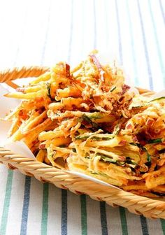 JAPANESE HOME COOKING: Time to enjoy a Kyushu specialty: sweet potato and ginger tempura - AJW by The Asahi Shimbun