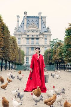 La Contessa – Portrait Shoot Paris FW