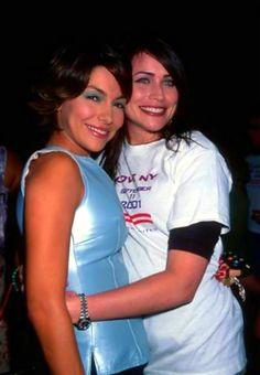 Vanessa Marcil and Rena Sofer