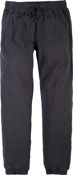 Pantalon sweat Noir Allsize grande taille 100 % coton Large ceinture  élastique avec cordon de serrage 59192901434