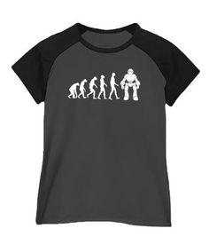 Robot evolution Women Raglan T-Shirt