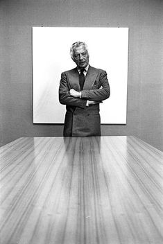 "Signore Giovanni Agnelli, the ""boss"" of style."