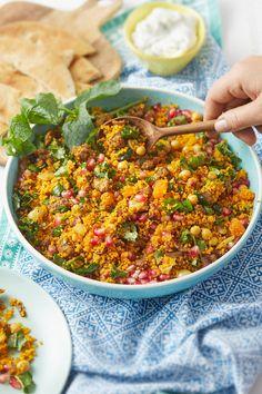 Veggie Recipes, Lunch Recipes, Whole Food Recipes, Vegetarian Recipes, Healthy Recipes, Eat Happy, Garam Masala, I Love Food, Soul Food