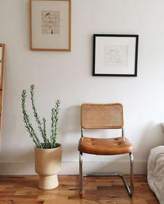 Diseño protagonista: silla Cesca con asiento de caña de Breuer