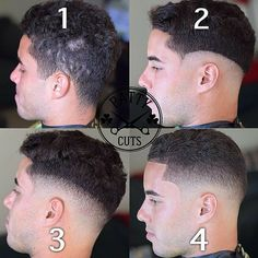 Steps of a skin fade Mens Clipper Cuts, Medium Skin Fade, Barber Tips, Trending Hairstyles For Men, Types Of Fade Haircut, Hair And Beard Styles, Hair Styles, Barber Haircuts, Hair Cutting Techniques