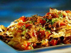Guy-talian Nachos Dove Recipes, Chef Recipes, Steak Recipes, Food Network Recipes, Italian Recipes, Mexican Food Recipes, Cooking Recipes, Nacho Recipes, Italian Foods