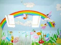 This site has wonderful ideas for murals in a child's bedroom.
