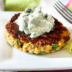 Vegetarian and healthy; Make these chickpea patties one Sunday and cook them up as individual servings for the next few days.
