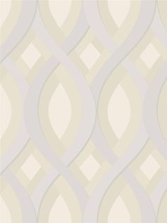 Candice Olson - Dimensional Surface Wallpaper | Geometric Ovals and Diamonds l AmericanBlinds.com