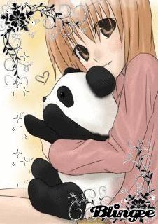 Panda+&+Girl