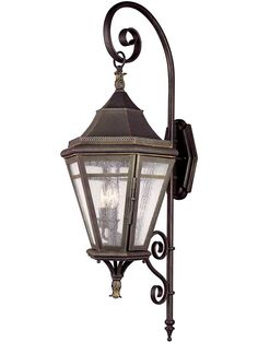 Troy Lighting Morgan Hill 3 Light Outdoor Wall Sconce with Seedy Glass Natural Rust Outdoor Lighting Wall Sconces Outdoor Wall Sconces Outdoor Wall Mounted Lighting, Outdoor Wall Lantern, Outdoor Wall Lighting, Exterior Lighting, Outdoor Walls, Lantern Lighting, Outdoor Spaces, Victorian Wall Sconces, Troy Lighting