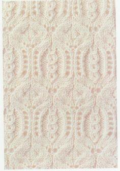 Lace Knitting Stitch #61 | Lace Knitting Stitches