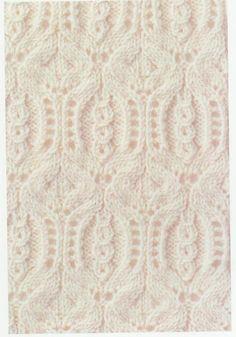 Lace Knitting Stitch #61